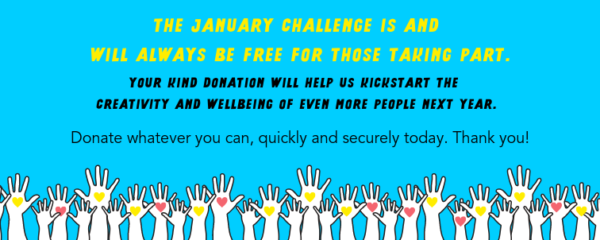 Donate to The January Challenge 2020